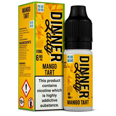 Mango Tart Original Serie 50/50 10ml Liquids by Dinner Lady