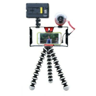 Octopus Flexible Gorillapod Tripod Stand & Camera Cage Stabilizer Mount Holder