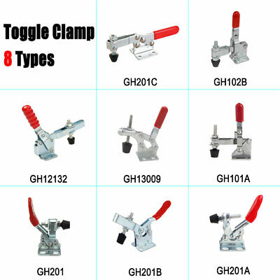 1X Holding Capacity Quick Release Horizontal U Bar Vertical Toggle Clamp 7 Type