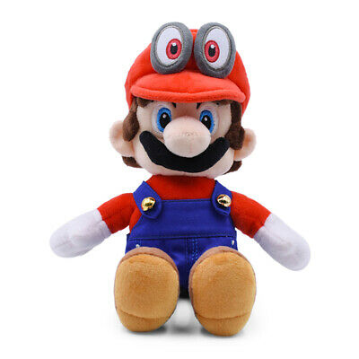 Super Toys Hat 12 Odyssey Cappy Plush Red Mario Doll inch