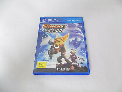 Mint Disc Ps4 Playstation 4 Ratchet And Clank & Free Postage