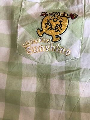 Womens Little Miss Sunshine Pyjamas Size 10