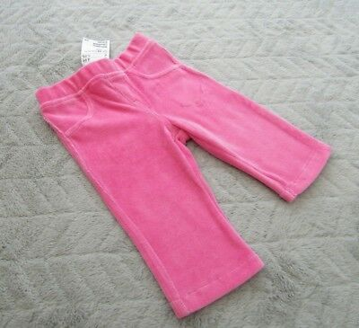 Baby Girls Pink Leggings Joggers Bottoms (4-6 Months) - By H&M - BRAND NEW BNWT