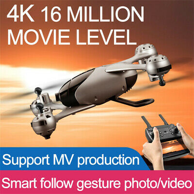 M6-4K 2.4G RC Drone Altitude Hold 4K HD Camera GPS Wifi Optical Flow Quadcopter