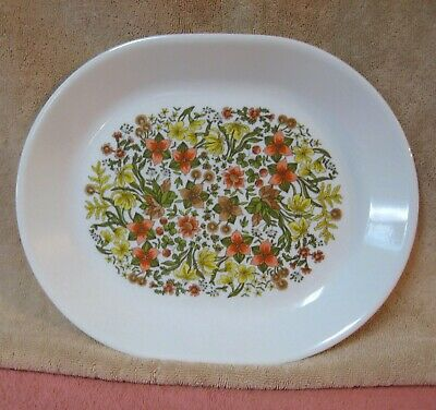 "Vintage CORELLE Corning 12 1/4"" INDIAN SUMMER Platter"