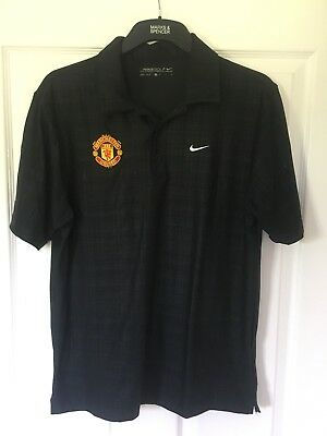 2015/2016 Manchester United polo golf football training shirt Nike small men's