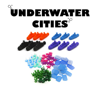 Upgrade tokens x112 - UNDERWATER CITIES Exclusive Boardgame Board game