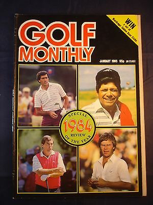 Vintage Golf Monthly - January 1985 - Birthday gift for the Golfer