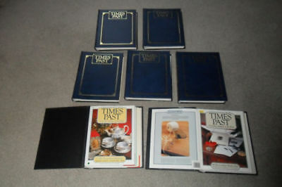 Complete set of Times Past magazines Issues 1-98 in 7 binders