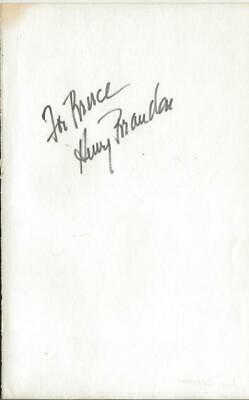 Estelle Winwood Signed 5.25x8.5 Vintage Album Page The Producers Movies