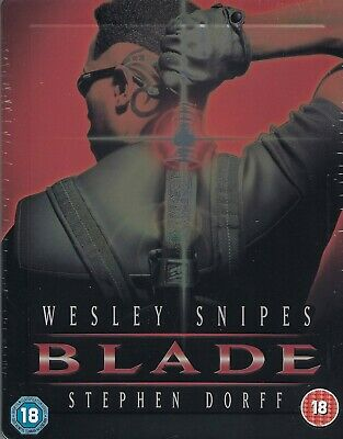 Blade Limited Edition Emboseed SteelBook (Region Free UK Import Blu-ray)