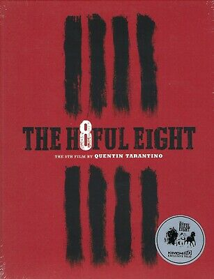 The Hateful Eight KimchiDVD Exclusive Limited Edition Blu-ray w/Slip (Korea)