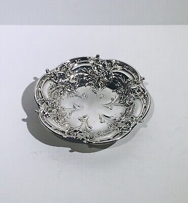 Beautiful Art Nouveau Sterling Silver Reed & Barton Pedestal Candy Dish