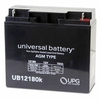New Upg Ub12180 12V 18Ah Jumper Pack Booster Box Battery Replacement