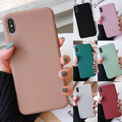 For iPhone 6 6s 7 8 Plus X XR XS Max Protective Case Ultra Thin Slim Hard Cover