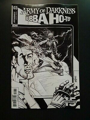 ARMY OF DARKNESS BUBBA HOTEP #4 1:30 Tom Mandrake Variant Comic Book Dynamite