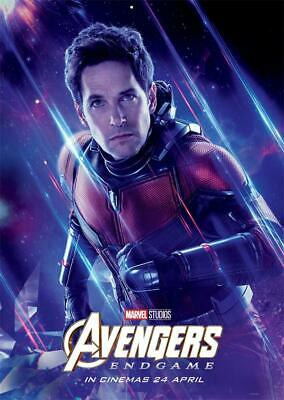 Avengers Endgame Movie 2019 Edition Characters Ant-Man Poster