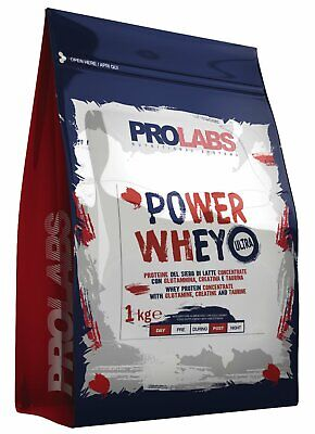 PROLABS POWER WHEY ULTRA VANIGLIA BUSTA DA 1KG (VbK)