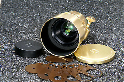 Art Lens Lomography Petzval  f/1.9/58mm Bokeh Control for Nikon F Gold Color