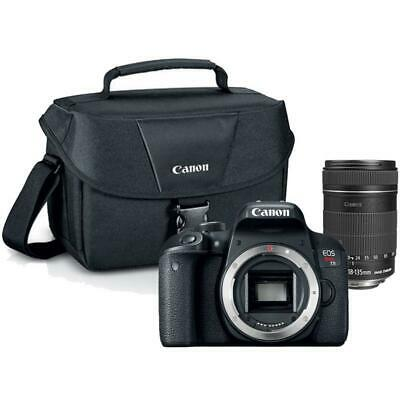 Canon EOS Rebel T7 DSLR Camera with 18-135mm EF-S f/3.5-5.6 IS STM Lens and Bag