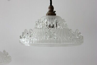 Antique Glorious Art Deco Ezan French Glass Light Shade (1930s) Only 12 Left