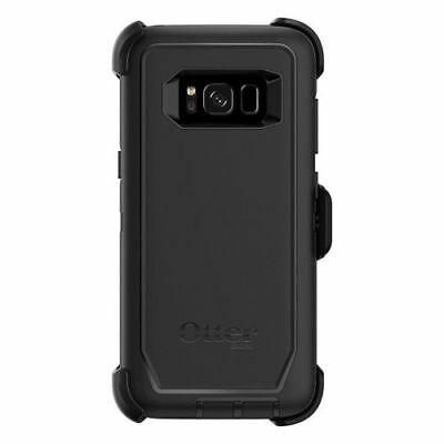 New Otterbox Defender Series Case for Samsung Galaxy S8 With Holster - Black