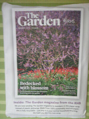 Rhs The Garden Magazine April 2019 Tulips Flowering Trees Kitchen New Paper Wrap