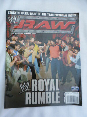 RAW  - Wrestling magazine - January 2005