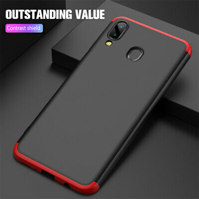 For Samsung Galaxy M20 M10 Case,360°Full Protection Hybrid Armor Hard Back Cover
