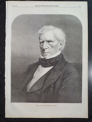 The Late Henry Peter Lord Brougham Great Britain 1868 Illustrated London News