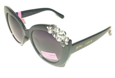 067683c1bc8c9 BETSEY JOHNSON GLOW Betsey Sunglasses in Black BJ863113 -  70.00 ...