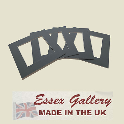 SQUARE Picture Frame And Photo Frame Mounts - GREY