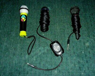 2 Wired Microphones - Karaoke - Sound System - Kanomi - Logitech