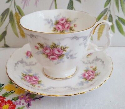 """Royal Albert """"Tranquility"""" tea cup and saucer. ***6-----Available***"""