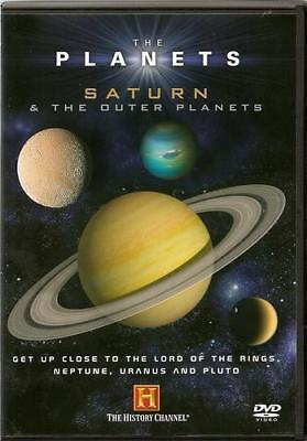 The Planets. Saturn & The Outer Planets. Dvd. Region 2. History Channel