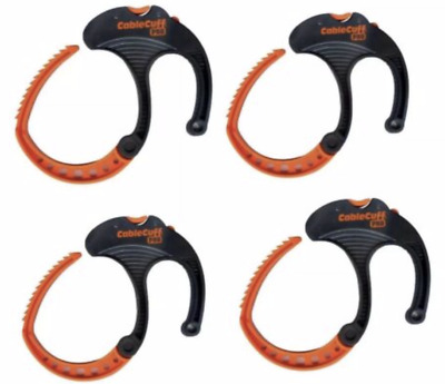"Cable Cuff PRO  Large 3""  Cable Clamp  Adjustable, Reusable - 4 Pack New"