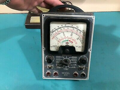 Super Meter 670 Superior Instruments tester radio capacitor checker Electrolytic
