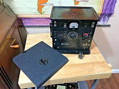 General Octave band noise Analyzer 1550A antique radio tester tube driven