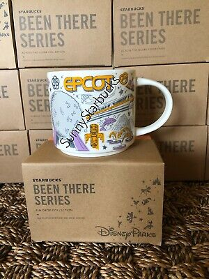 Starbucks Epcot - Been There mugs - Disney Parks