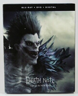 Death Note: Light Up the New World Blu-ray + DVD + Digital BRAND NEW Slipcover