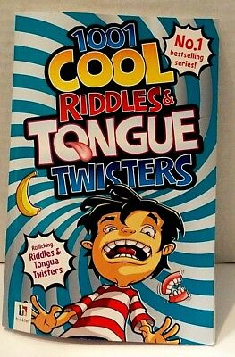 1001 Cool Riddles & Tongue Twisters Book No. 1 Bestselling Series By Hinkler