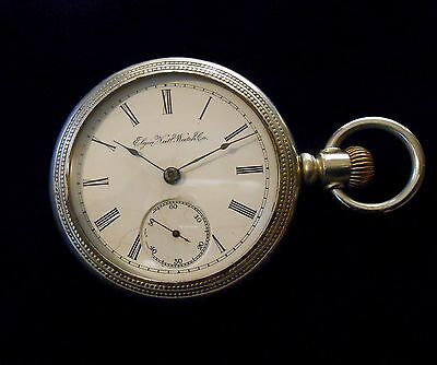 Elgin Large Period Pocket Watch from circa 1905 Running