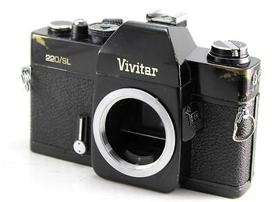 Vivitar 220/SL 35mm SLR Film Camera M42 Mount