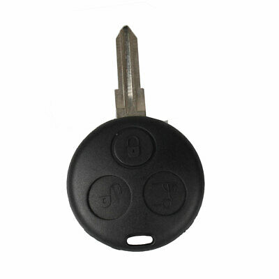 3 Button Remote Key Fob Case Shell For Smart Fortwo Forfour City Coupe Cabrio