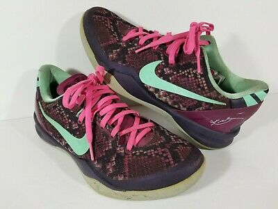 new concept 26d35 78473 Nike Kobe 8 VIII System Pit Viper 555035-502 Shoes Size 8