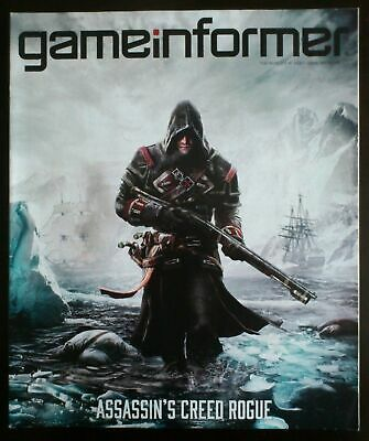 Video Game Magazine Game Informer - Assassin's Creed Rogue