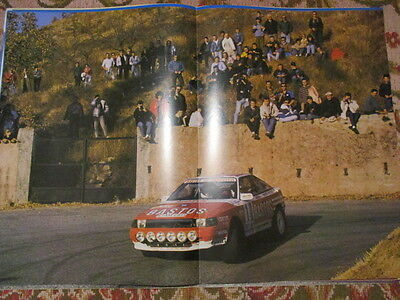 Poster 2 Pages Auto : Toyota Celica Rallye