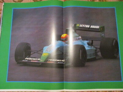 Poster 2 Pages Auto : Leyton House F1