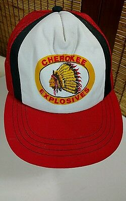 BLACK NATIVE INDIAN Chief baseball hat cap embroidered snap back
