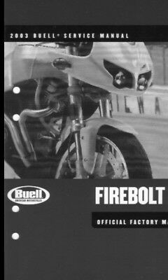 manuale officina (ENG) Buell xb9r -lightning (2003)work manual
